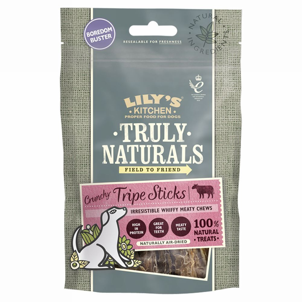 Lily's Kitchen Truly Naturals Crunchy Tripe Sticks Dog Treats