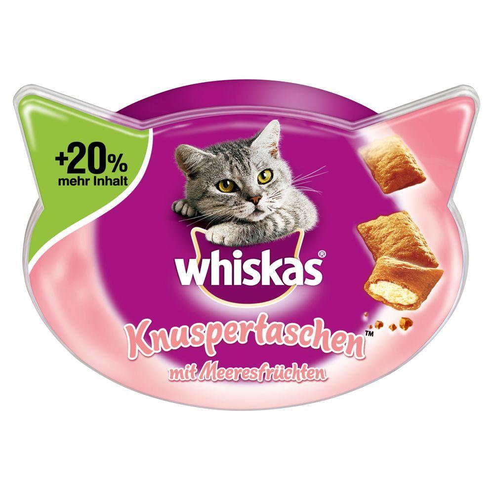 Whiskas Knuspertaschen +20% mehr Inhalt - Pute ...