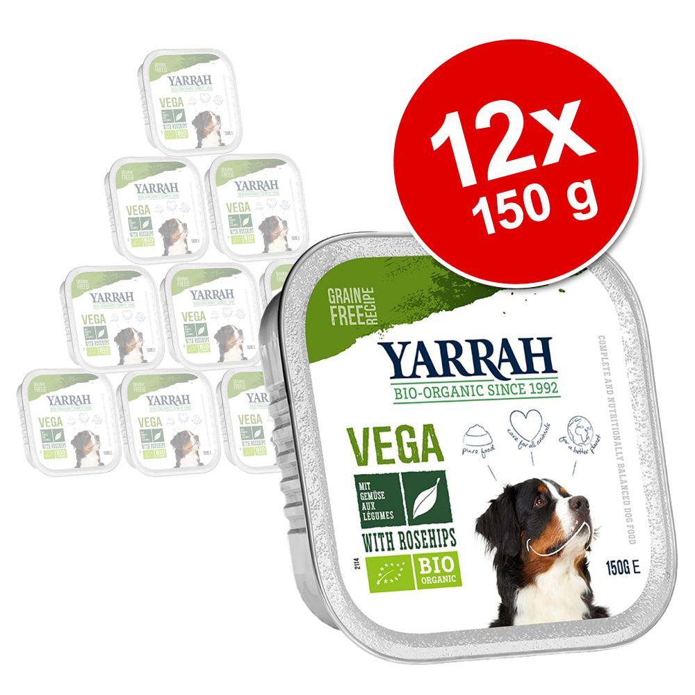 Yarrah Bio Chunks mit Hagebutte 12 x 150 g - Ve...
