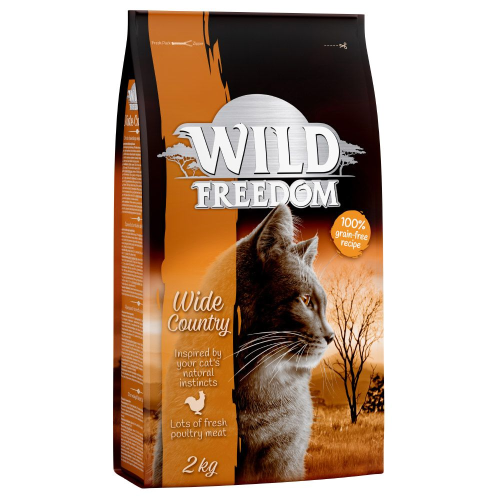 Beef Farmland Adult Wild Freedom Dry Cat Food