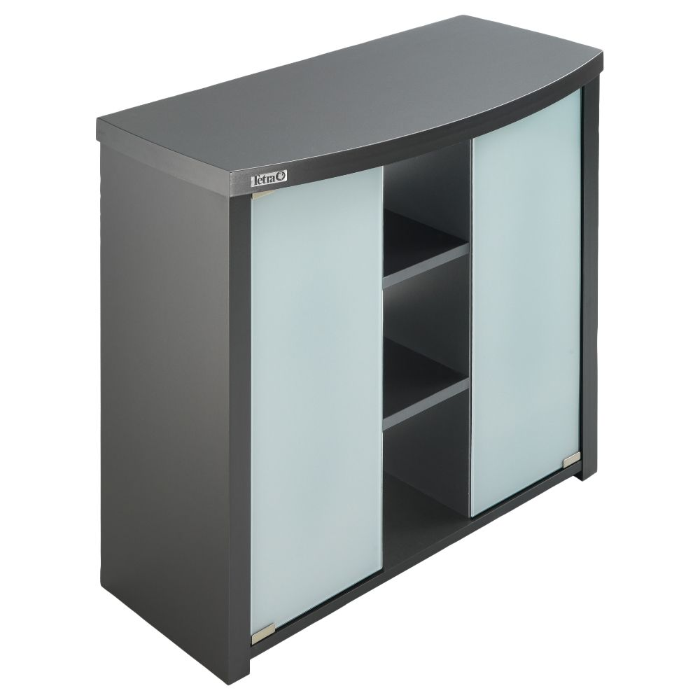 The Tetra AquaArt II Evolution Line Aquarium Cabinet in graphite combines a sleek and modern design with reliable stability and space for every one of your aquariu...