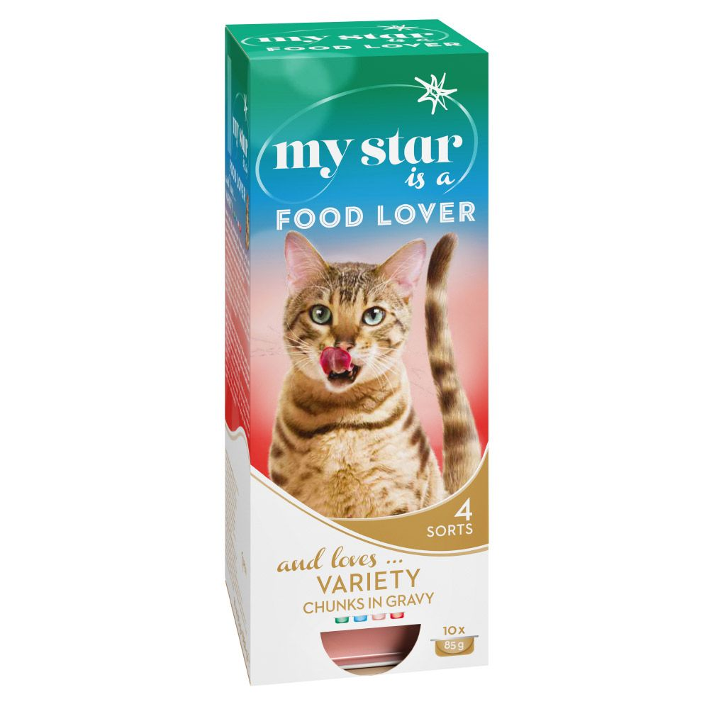 Chunks in Gravy Mixed Pack My Star Wet Cat Food