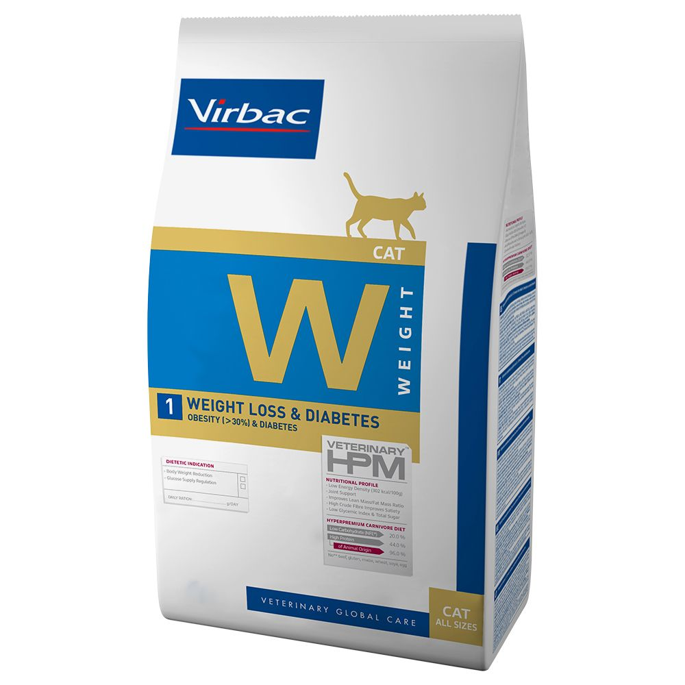 Virbac Vetcomplex HPM Feline Weight Loss & Diabetes is a dry cat food that has been specially developed by veterinarians and nutritional scientists for cats wi...