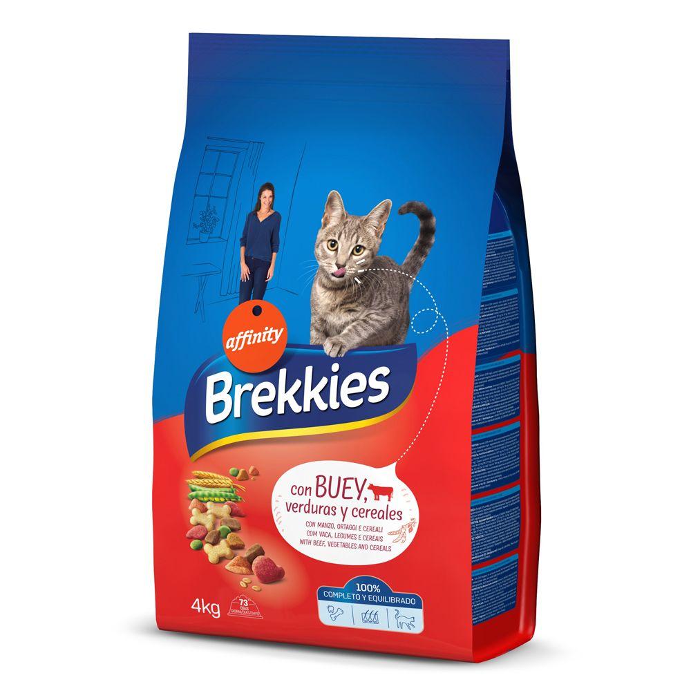 Brekkies Beef - Ekonomipack: 2 x 15 kg