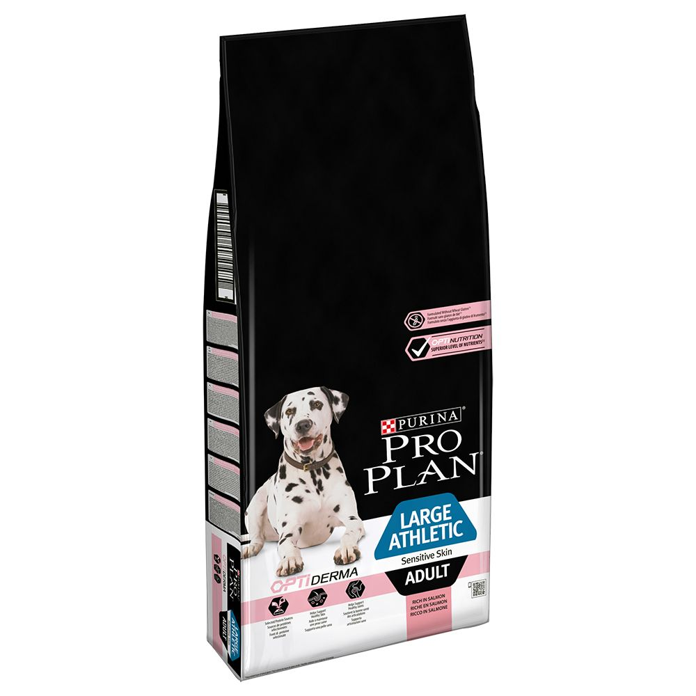 Adult Large Athletic Sensitive Skin Salmon Pro Plan Dry Dog Food
