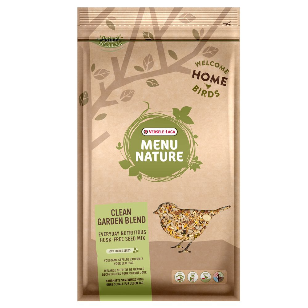 2.5kg Clean Garden Mix Menu Nature Bird Feed