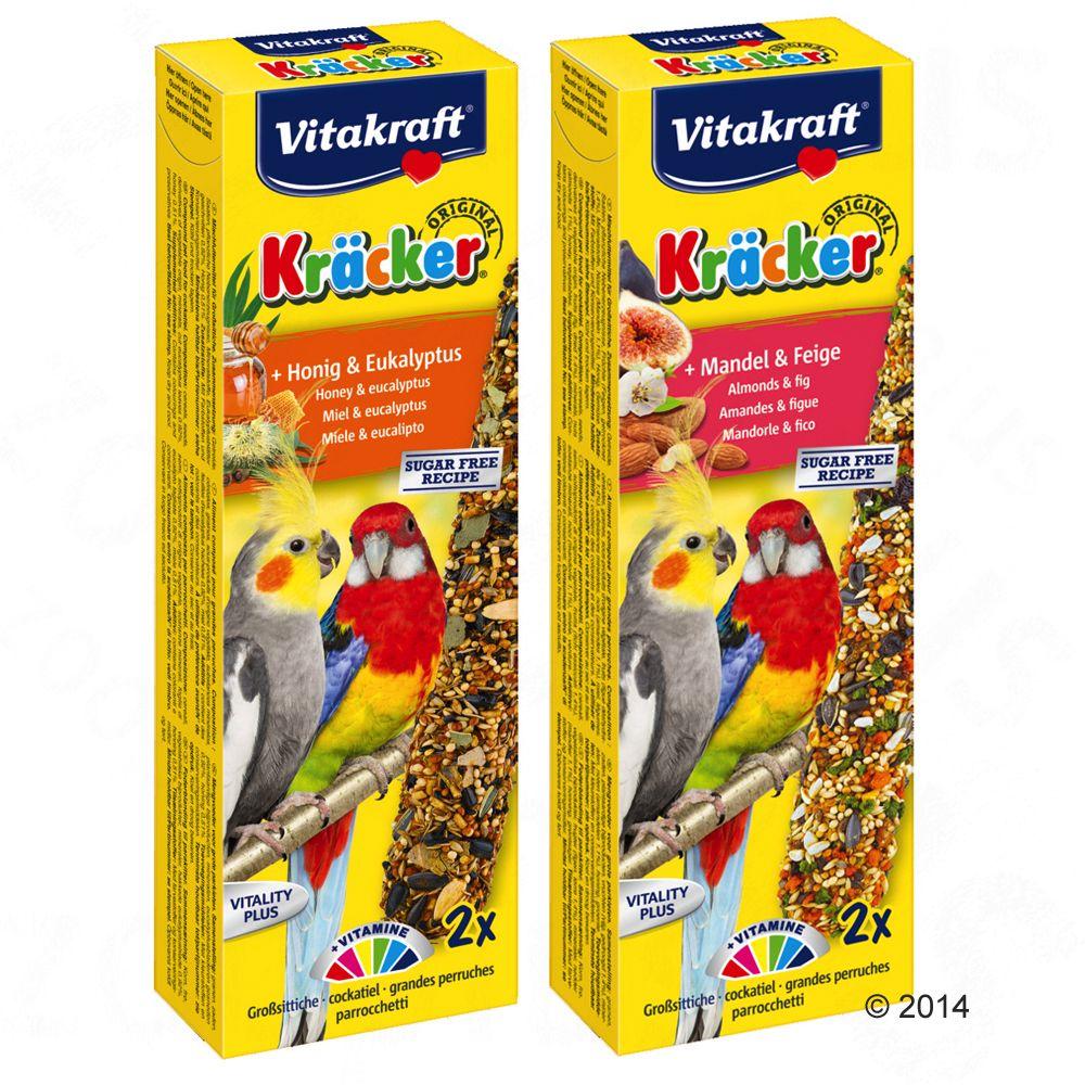 Vitakraft Krakersy dla papug falistych - Miód i eukaliptus