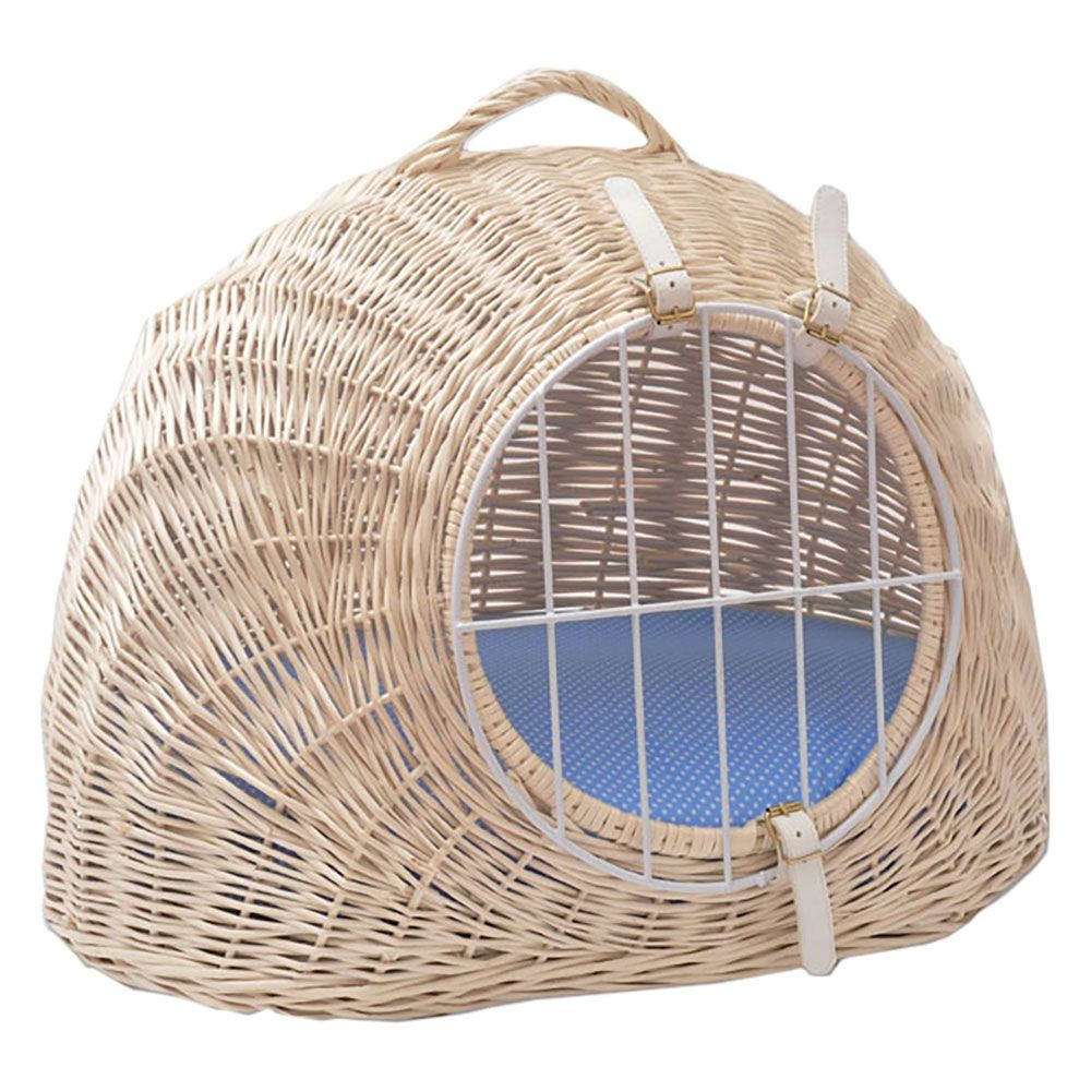 Aumuller Wicker Basket with Cushion