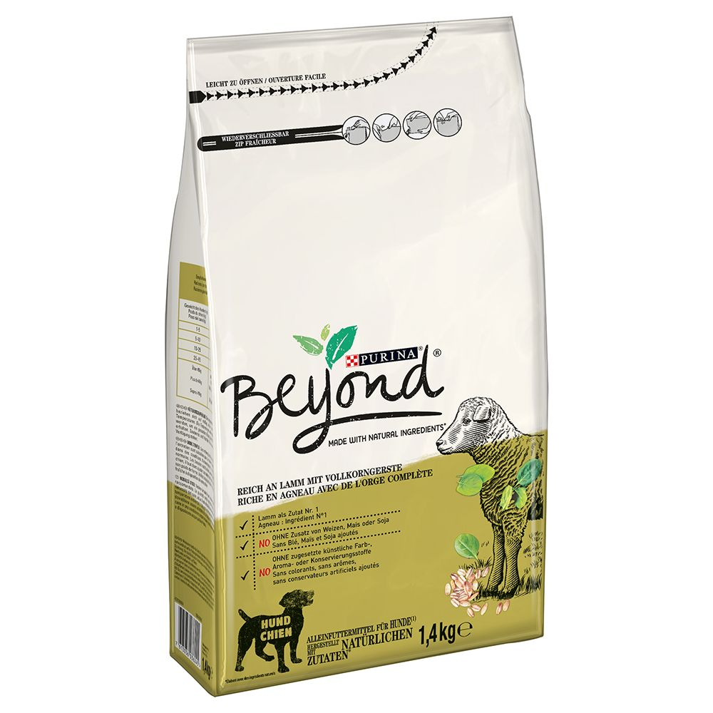 Image of Beyond Simply 9 ricco in Agnello con Orzo integrale - Set %: 3 x 1,4 kg