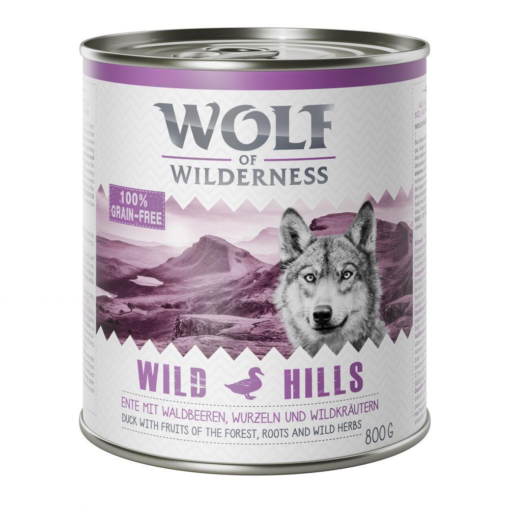 Wolf of Wilderness Adult 6 x 800 g - Oak Woods ...