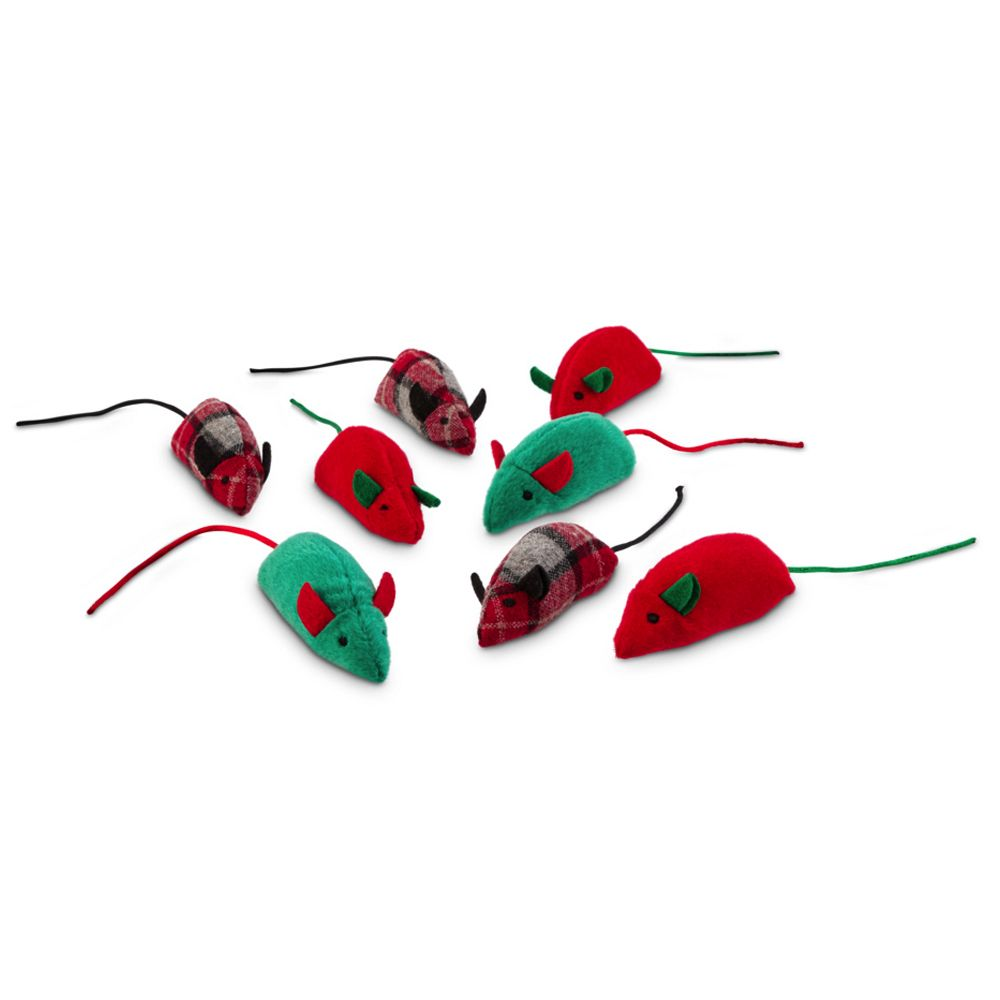 Catnip Mice Toy Set