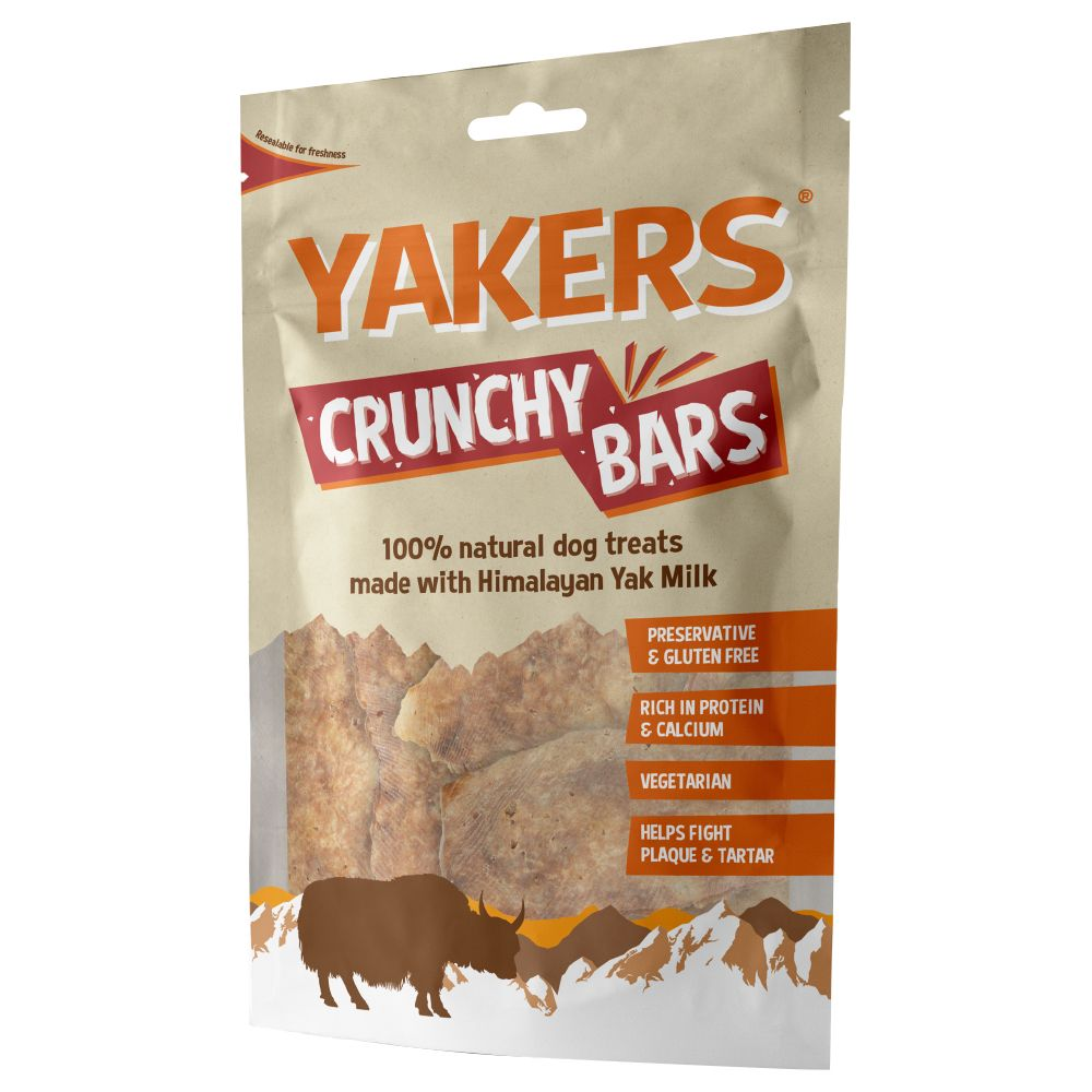 Yakers Crunchy Bars