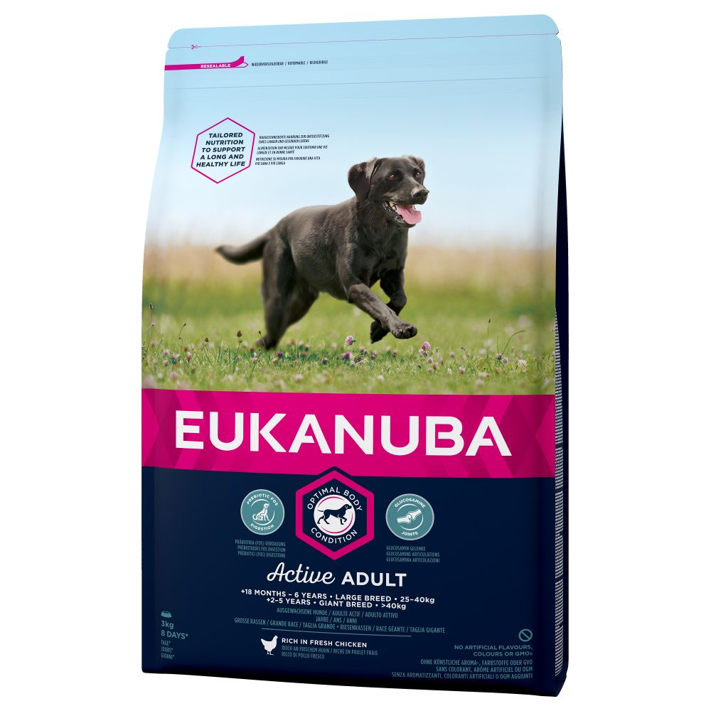 Large Adult Chicken Eukanuba Dry Dog Food