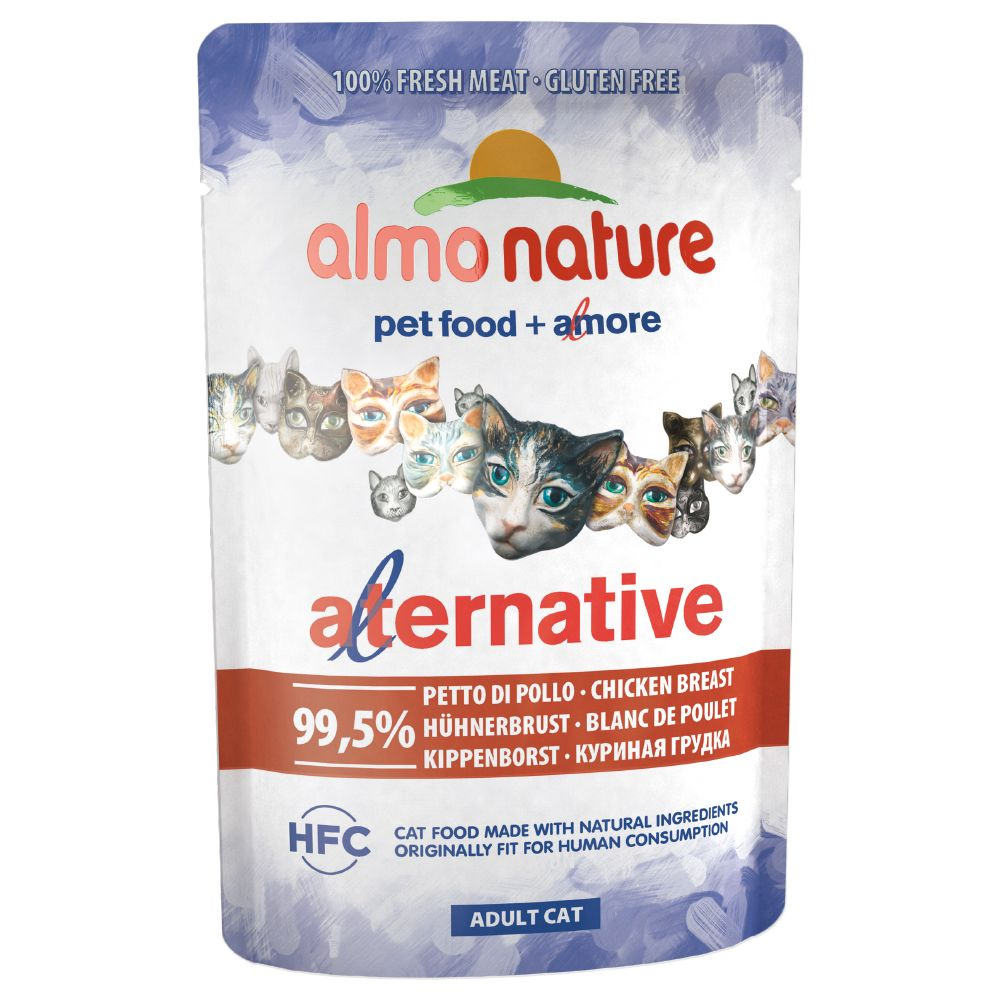 Bilde av Almo Nature Hfc Alternative Cat 24 X 55 G - Kyllingfilèt