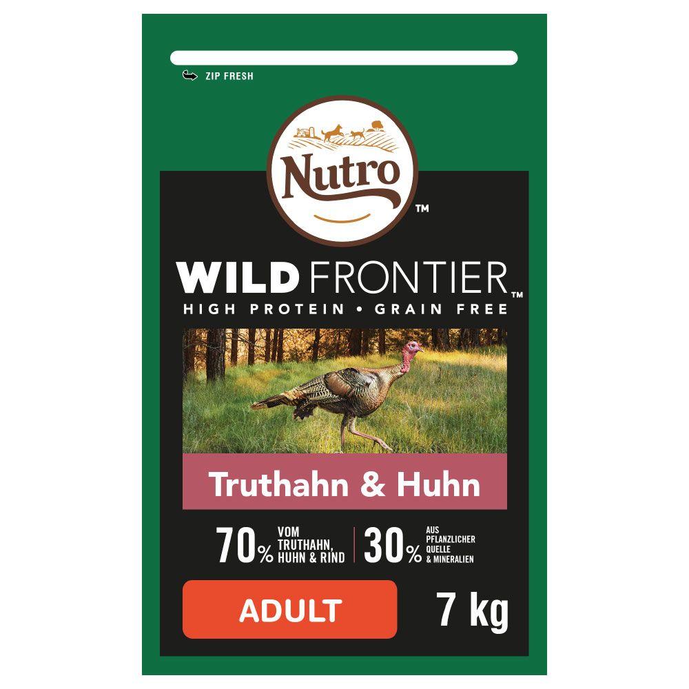 Nutro Wild Frontier Adult Turkey & Chicken - Ekonomipack: 2 x 7 kg