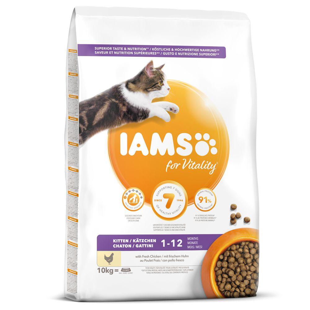 IAMSfor Vitality Kitten Fresh Chicken Dry Cat Food