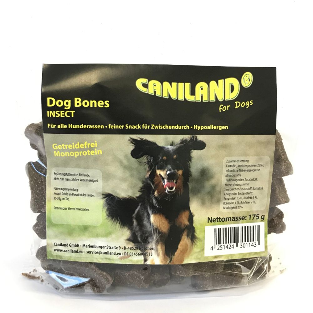 Image of Caniland Dog Bones Insect - 175 g