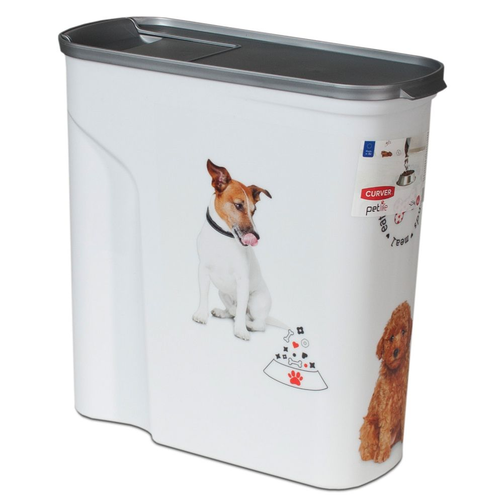Curver Dry Dog Food Container - 2.5kg capacity
