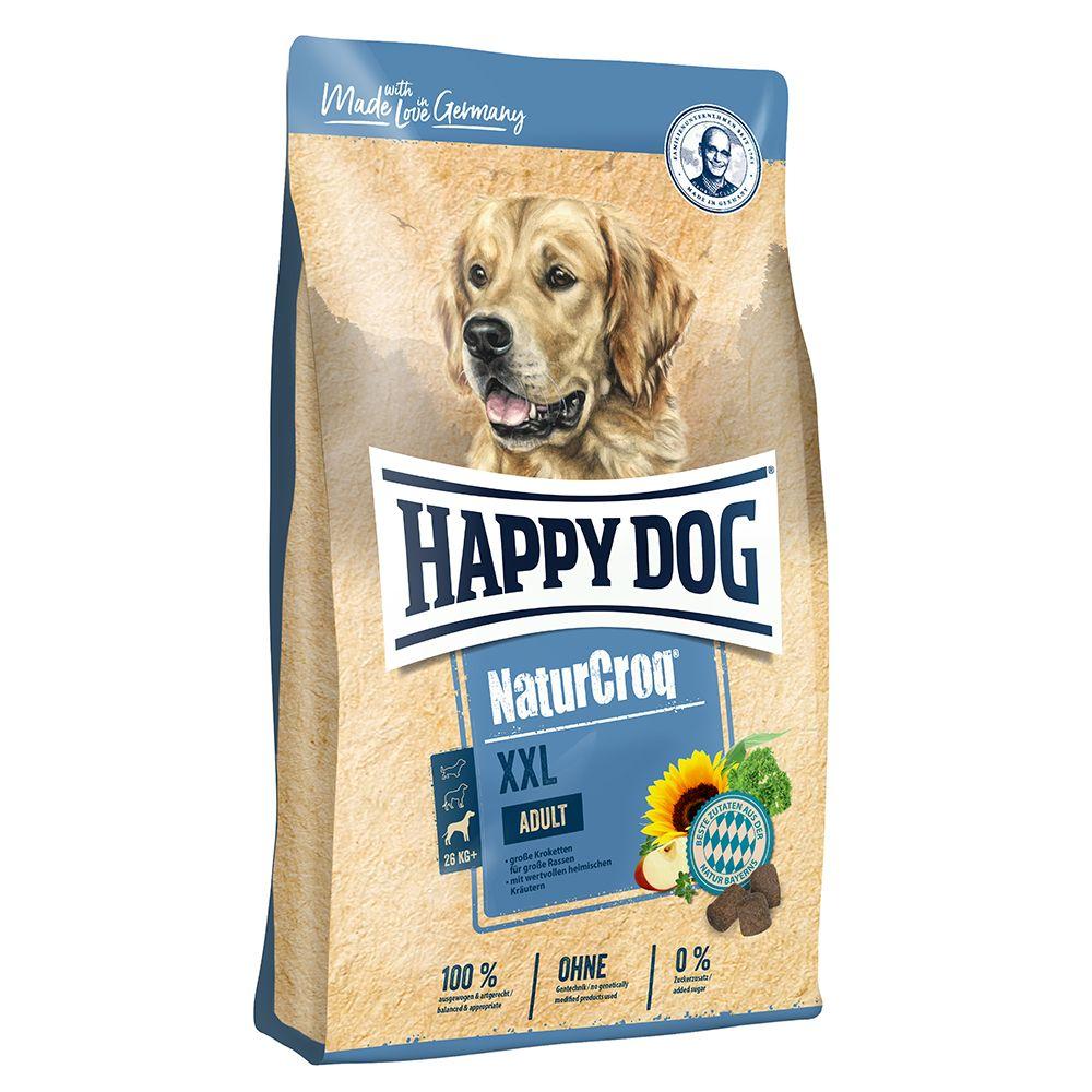 15kg Happy Dog NaturCroq XXL - Croquettes pour chien