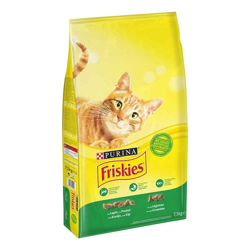 Image of Friskies Adult con Coniglio, Pollo e Verdure - Set %: 2 x 7,5 kg