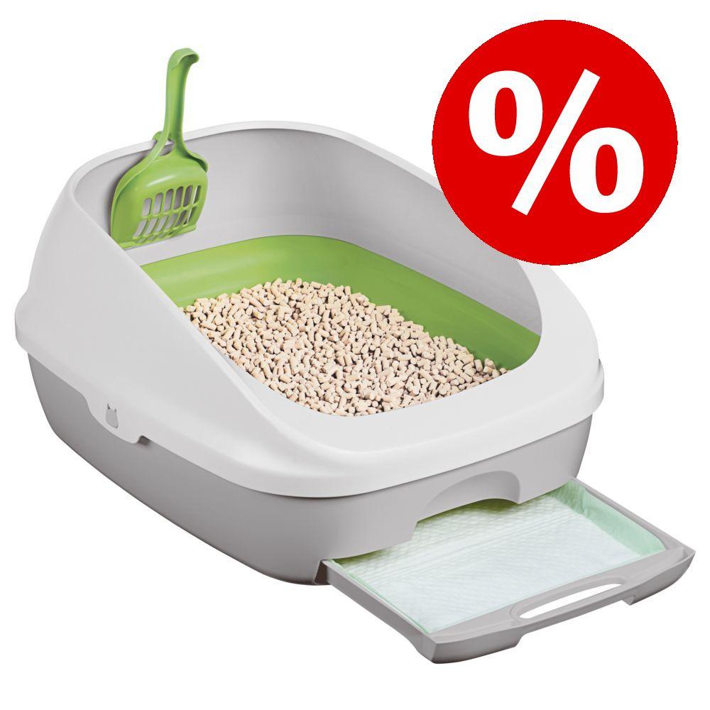 Purina Tidy Cats Breeze Start Box till sparpris! - Kattströ-pads påfyllnad (4 st)