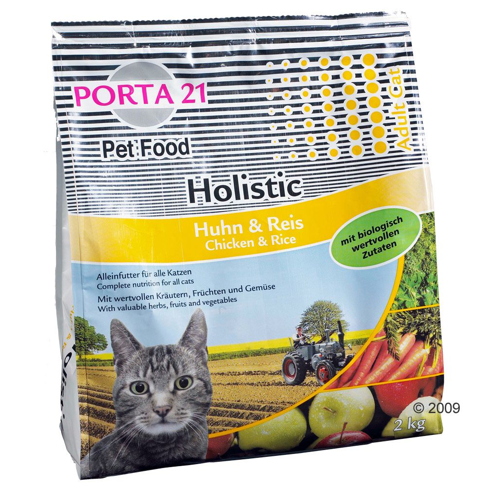 Foto Porta 21 Holistic Cat Pollo & Riso - 2 x 10 kg - prezzo top!