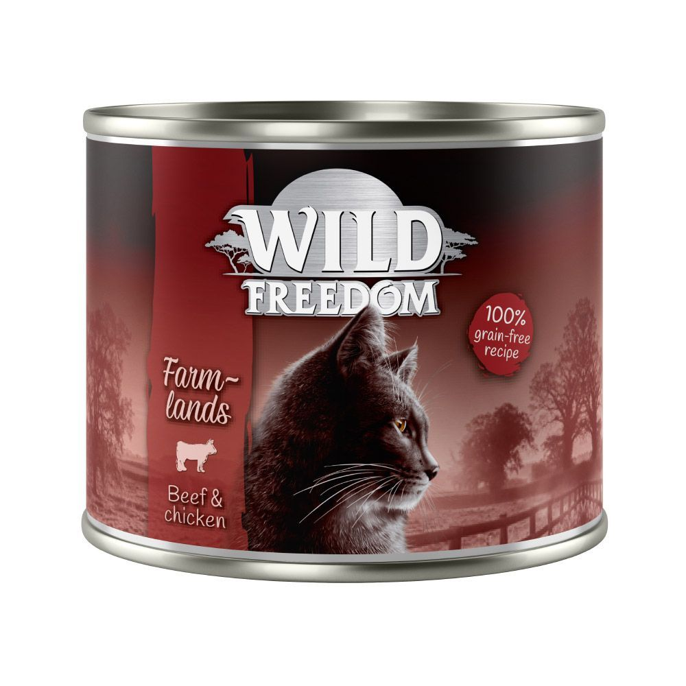 Wild Freedom Adult Cats 6 x 200g