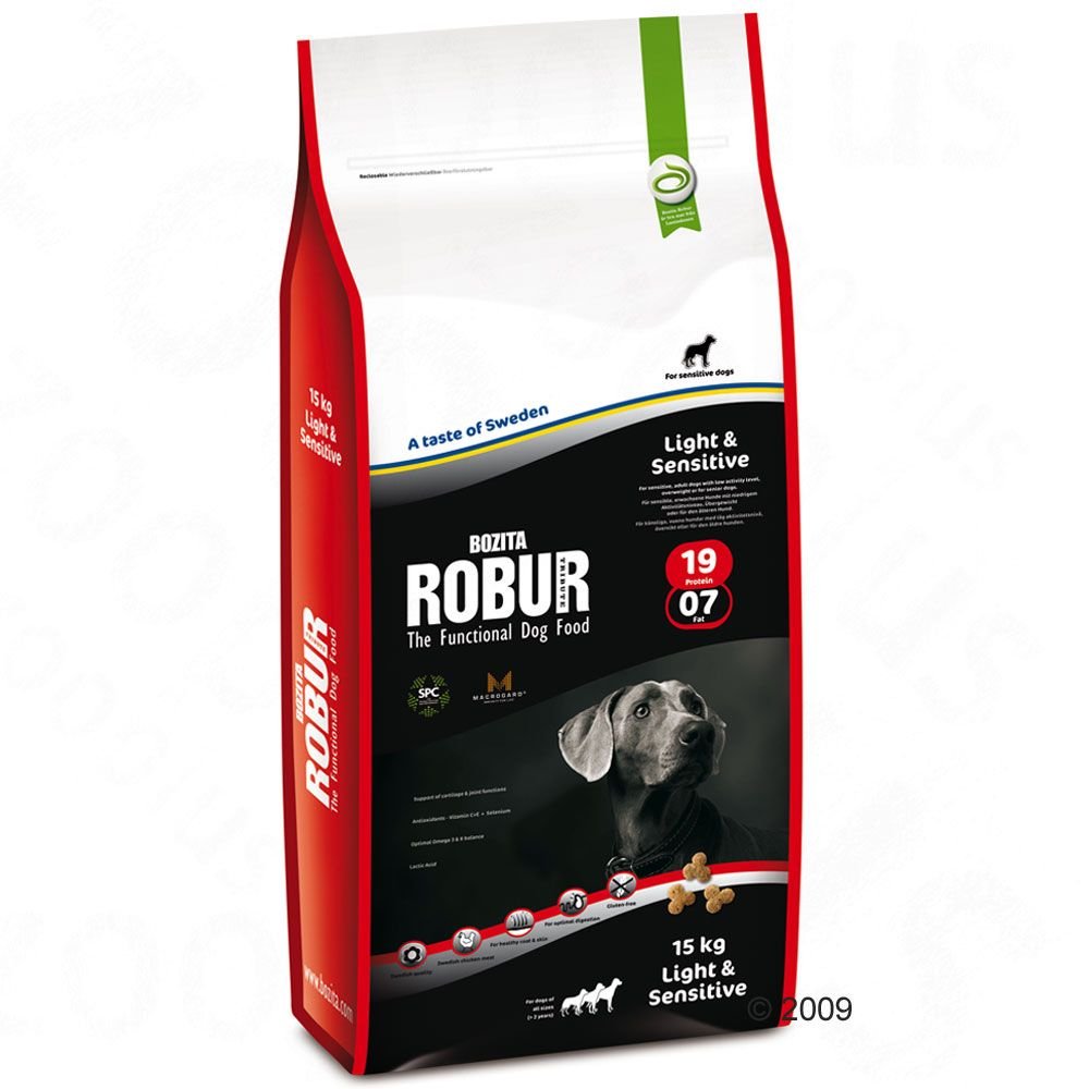 Foto Bozita Robur Light & Sensitive 19/07 - 2 x 12,5 kg - prezzo top! Bozita Robur Adult