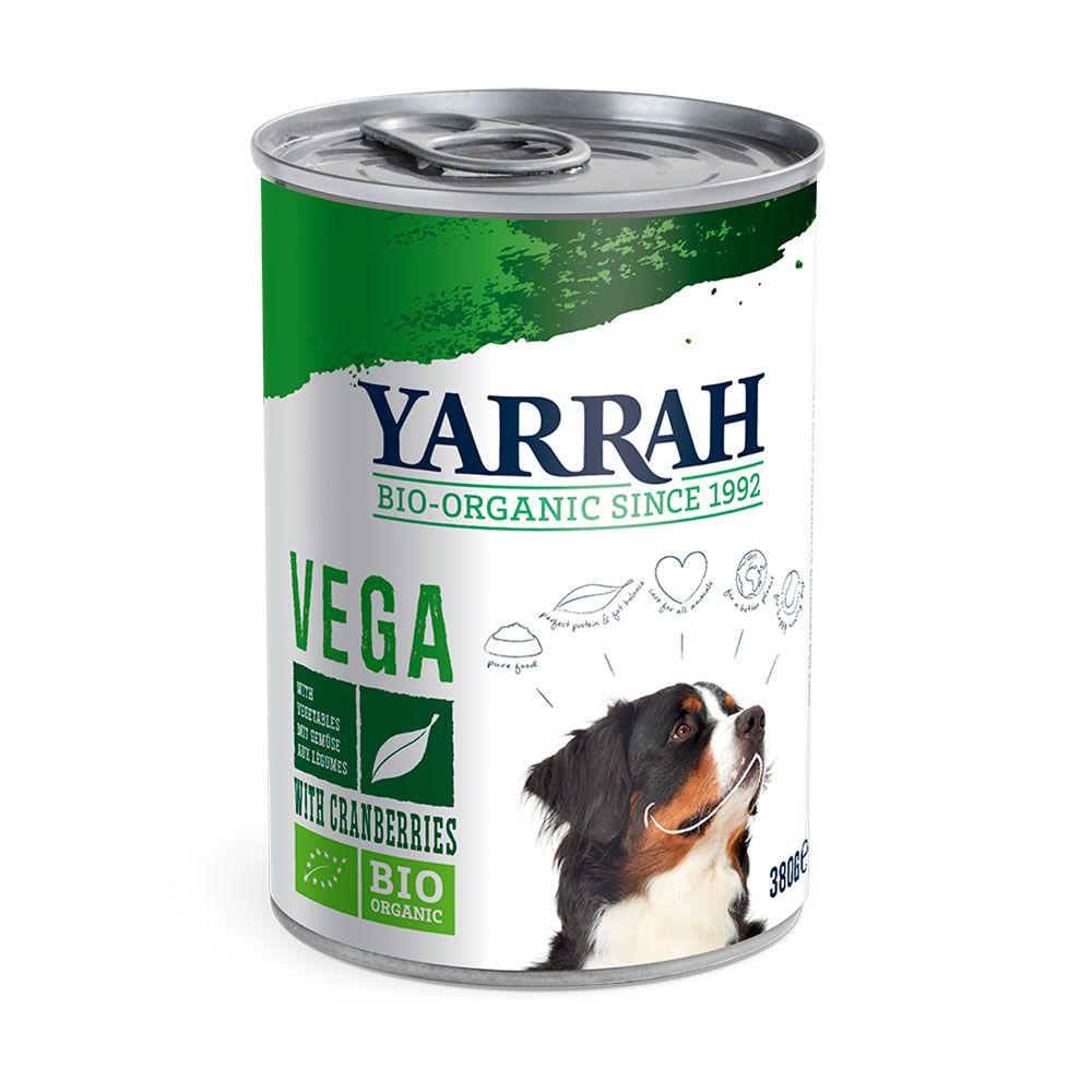 Vega Dog Chunks Yarrah Organic Wet Dog Food