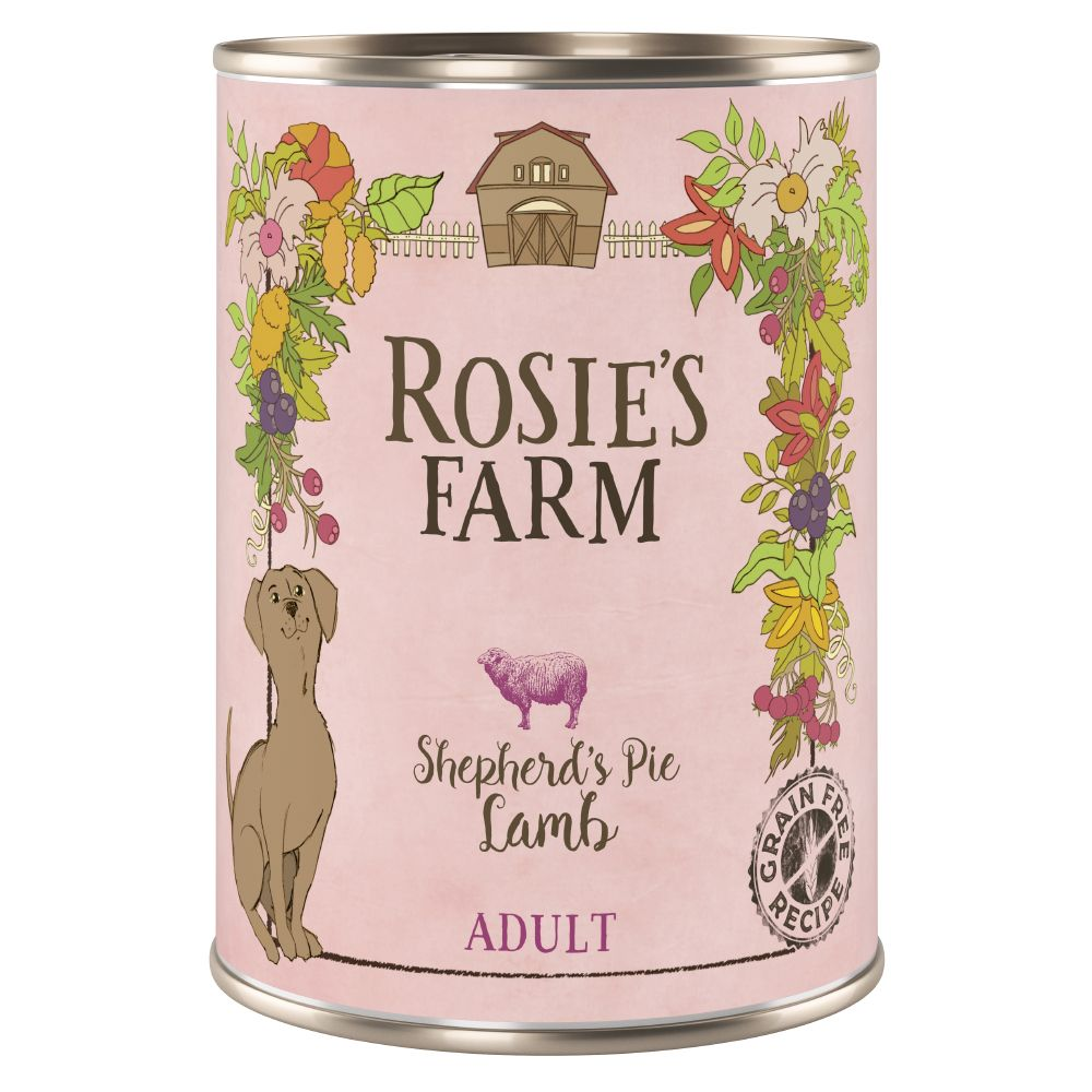 Lamb Adult Wet Dog Food Rosie's Farm