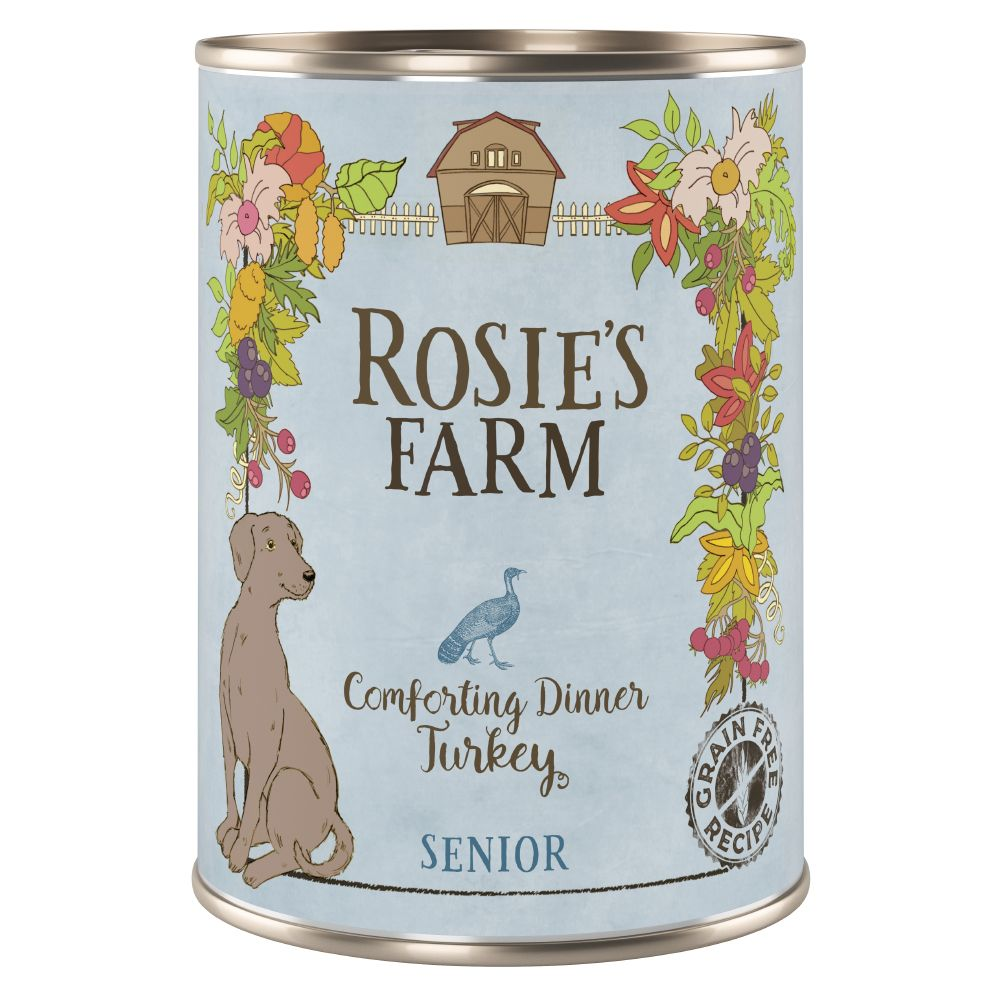 Turkey Senior Wet Dog Food Rosie's Farm