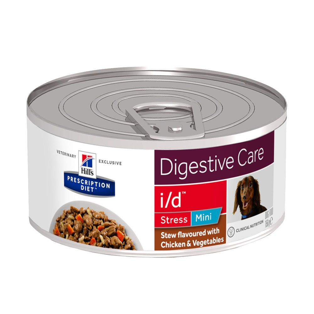 Stress Mini Chicken Stew i/d Digestive Care Hill's Prescription Diet Wet Dog Food