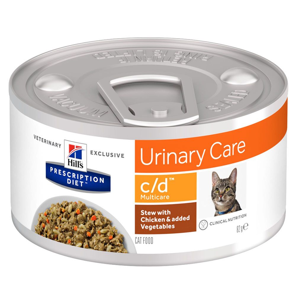 Chicken Stew Urinary Care c/d Feline Prescription Diet Hill's