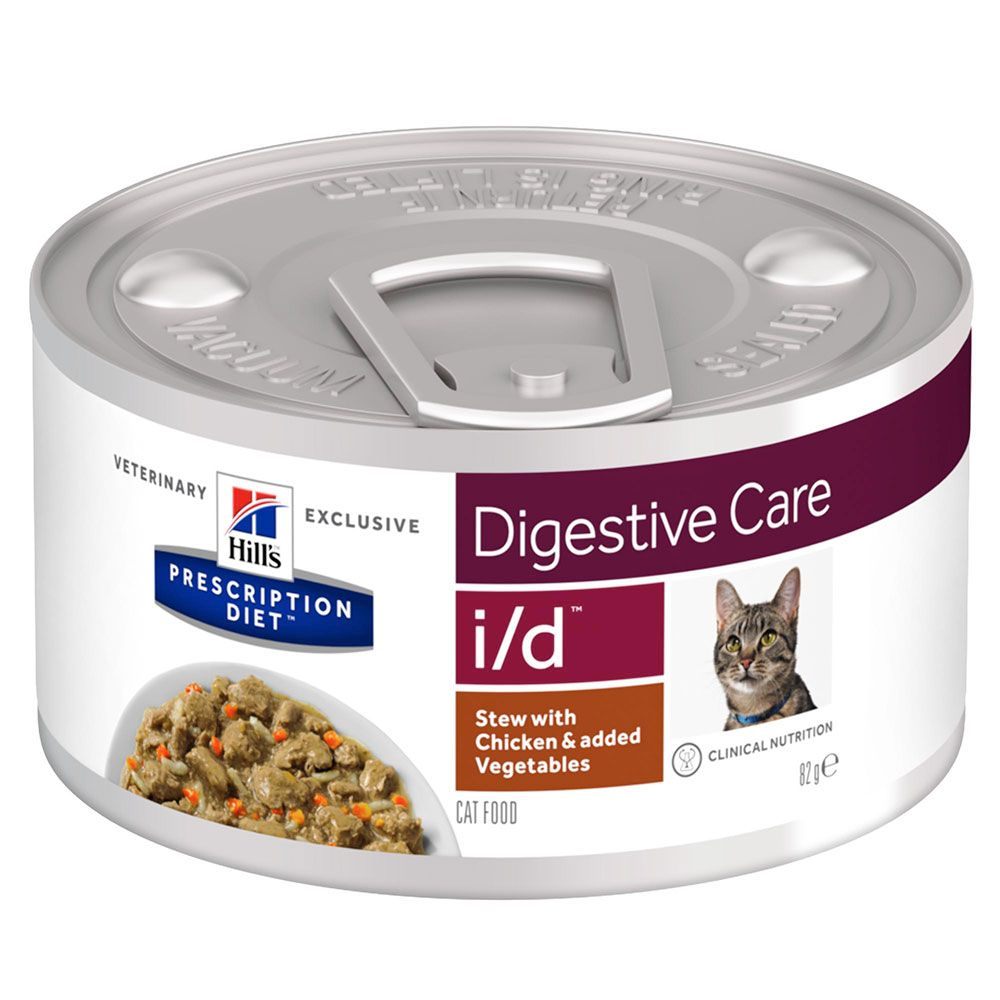 Hill's Prescription Diet i/d Digestive Care Stew med kyckling kattmat - Ekonomipack: 24 x 82 g