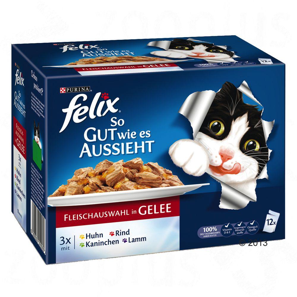 Felix ´´So gut wie es aussieht´´ in Gelee 12 x 100 g - Köstliche Fischvielfalt