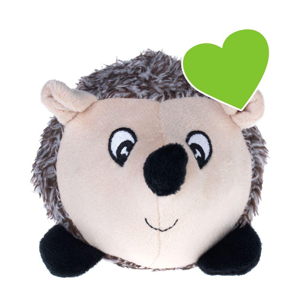 Süsser geht es kaum: Das zoolove Ballspielzeug für Hunde ist als niedlicher Igel gestaltet und aus weichem Plüsch gefertigt. Doch nicht nur zum Kuscheln ist das Spielzeug wunderbar geeignet. Dank des im Igel-Bauch versteckten Gummiballs kann es auch ausgezeichnet zum Werfen, F...