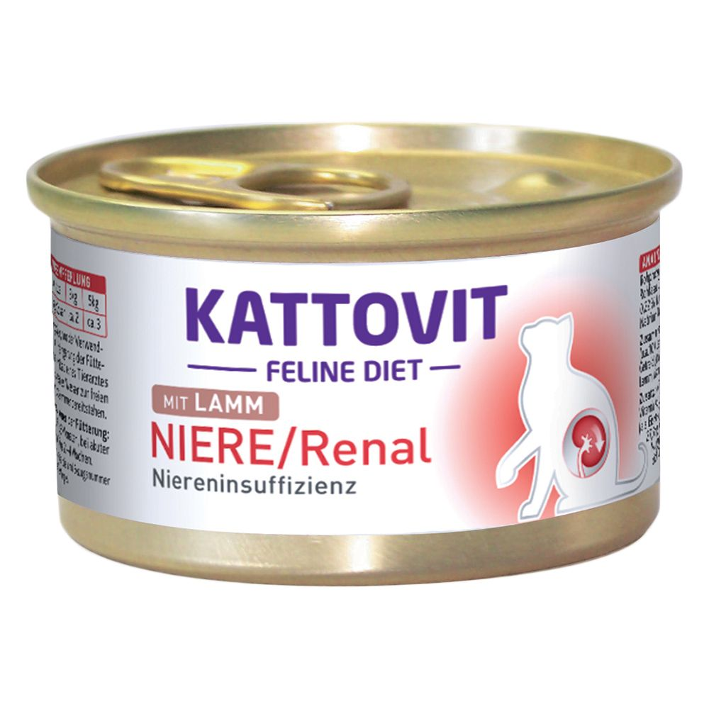 Kidney/Renal Lamb Kattovit Wet Cat Food