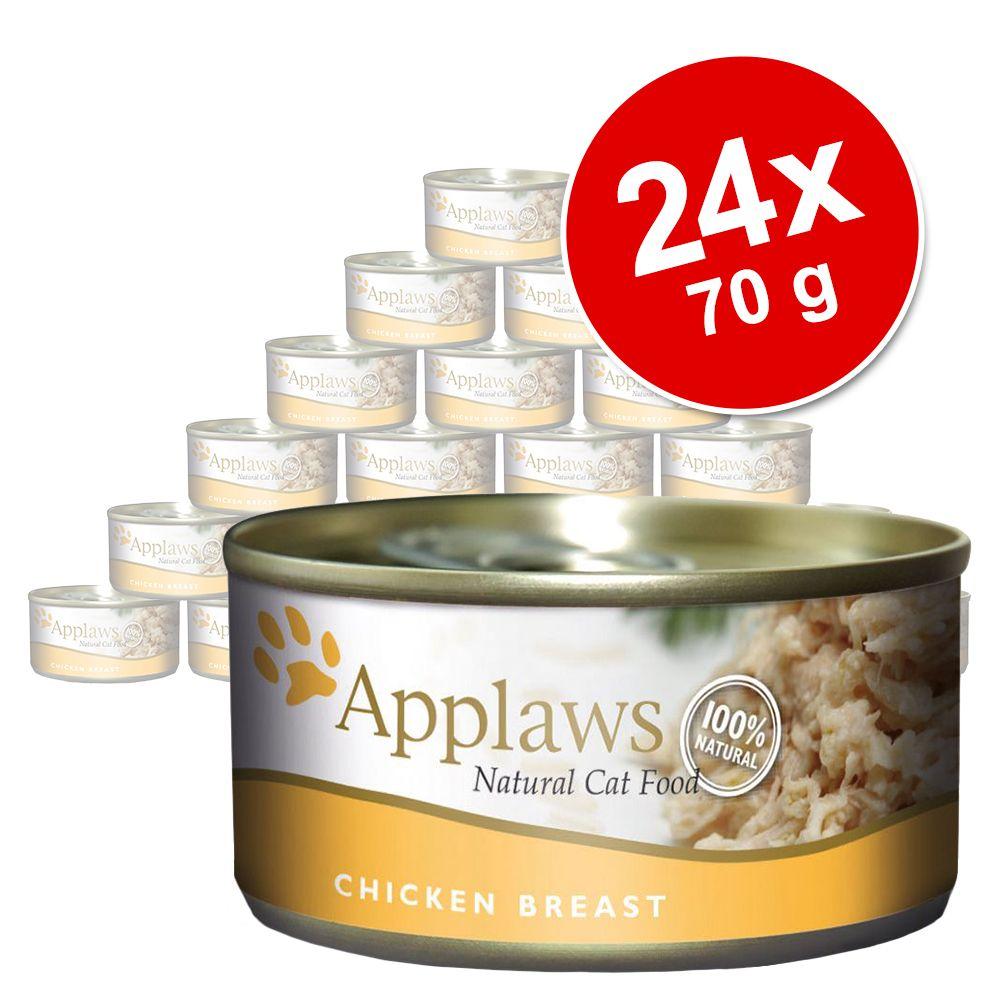 Sparpaket Applaws in Brühe 24 x 70 g - Thunfisc...