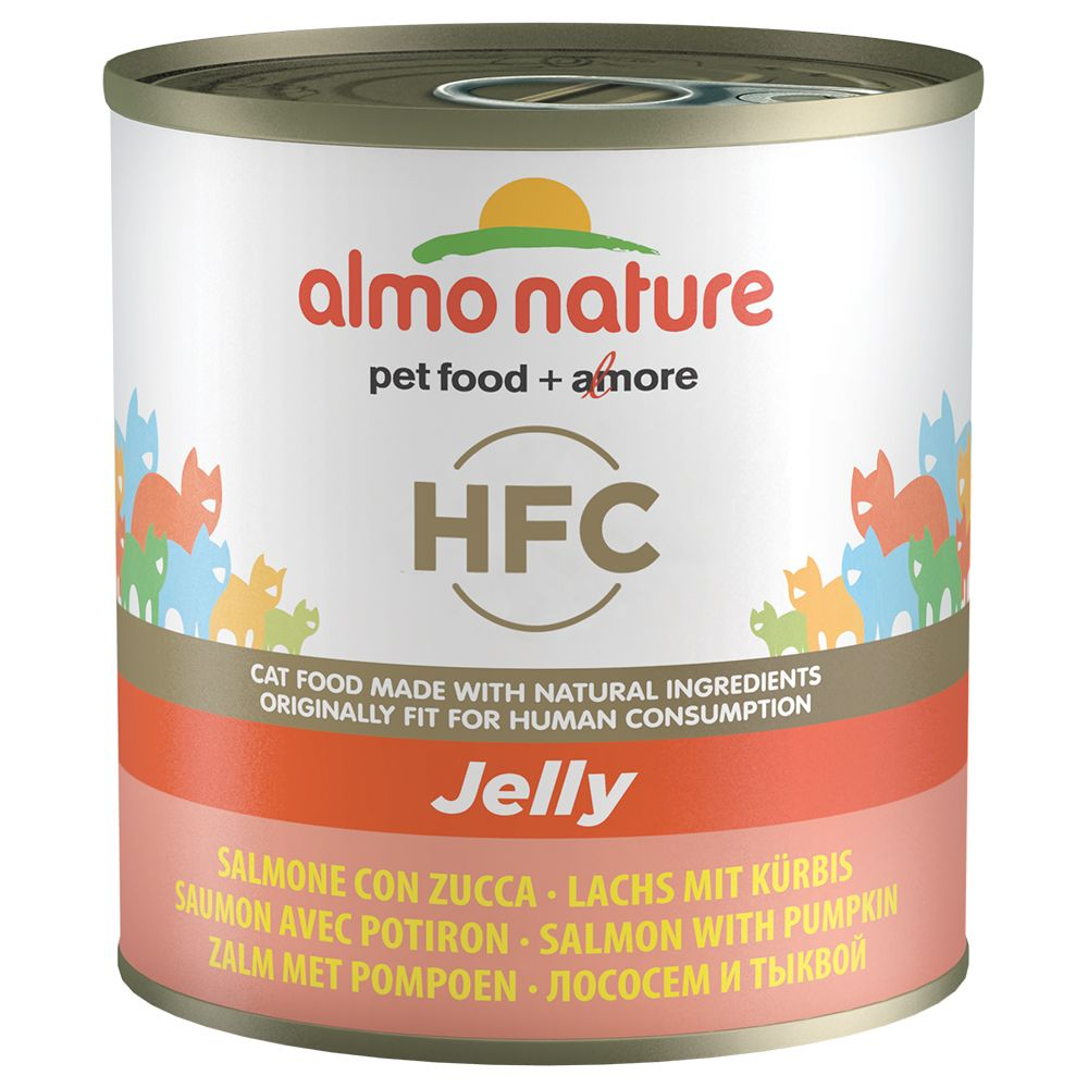 Chicken & Salmon Almo Nature Classic Wet Cat Food