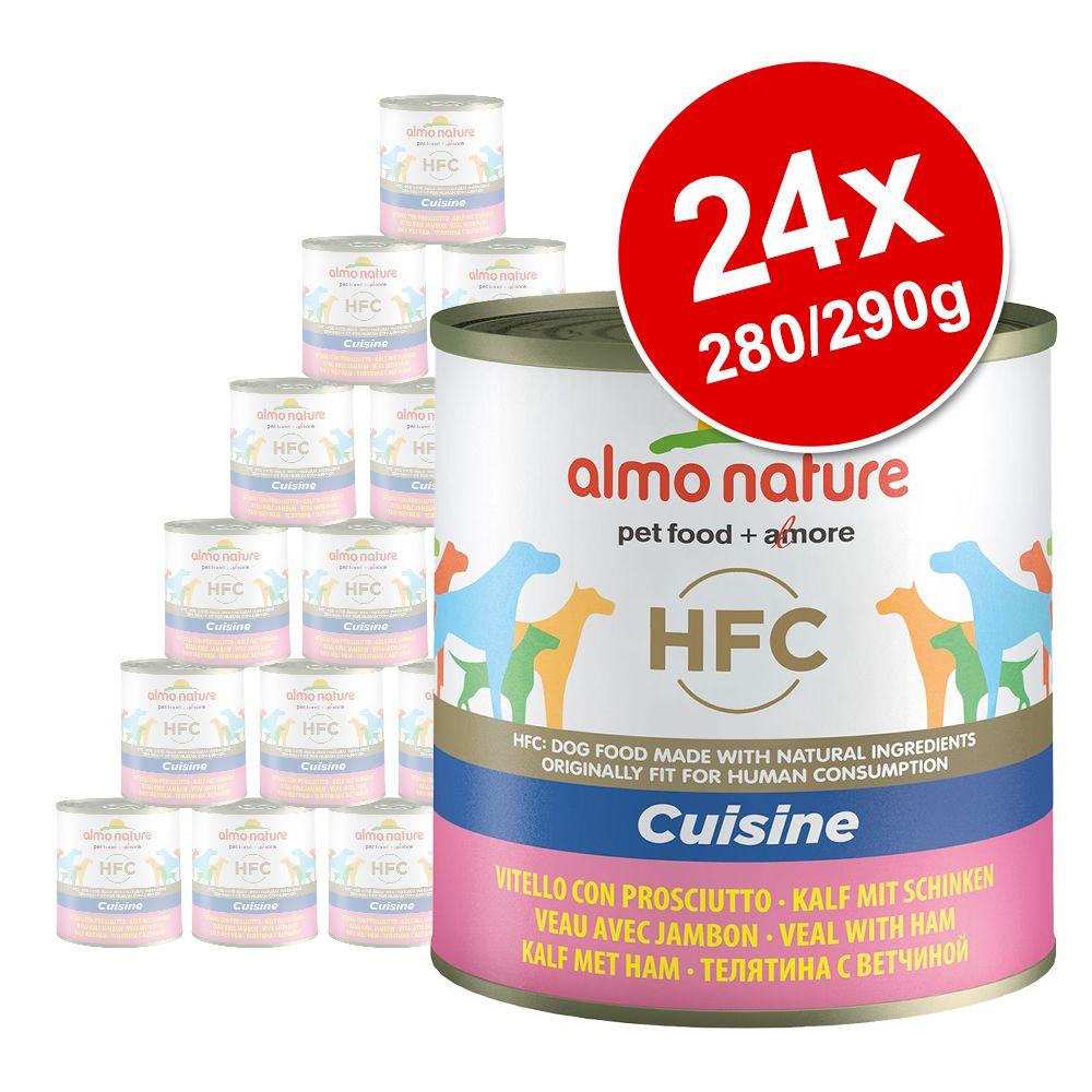 Sparpaket Almo Nature HFC 24 x  280 g / 290 g - Skip Jack Thunfisch und Kabeljau (290 g)