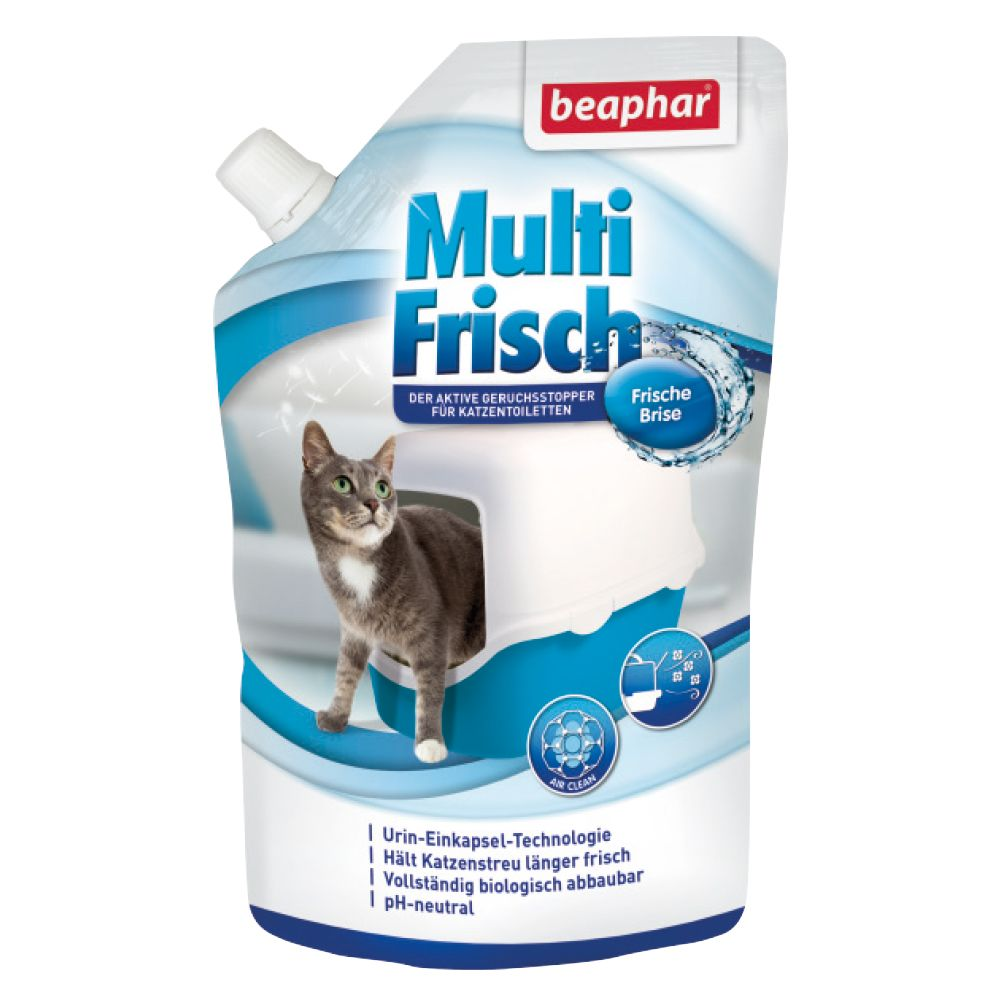 beaphar Multi Fresh för kattoaletter Fresh Breeze 400 g
