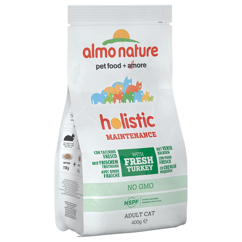 3 x 400 g Almo Nature i blandat provpack - 3 x 400 g blandpack