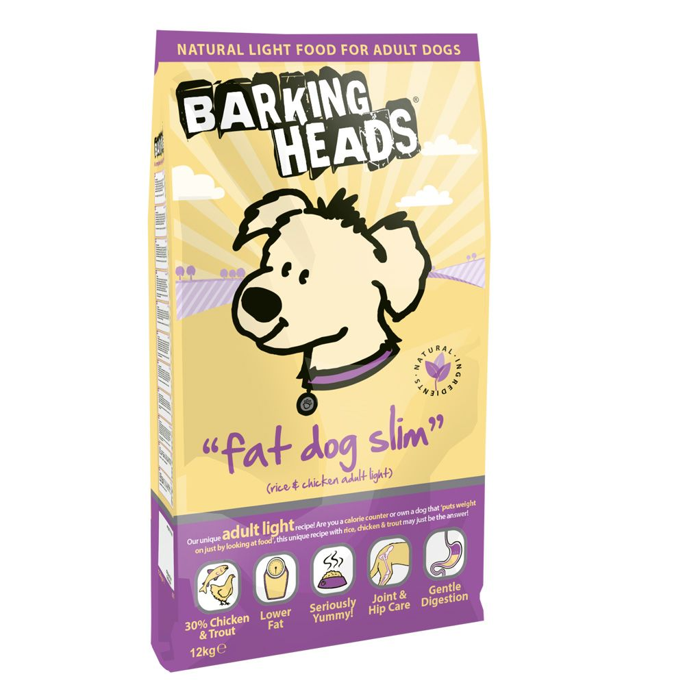 Barking Heads Fat Dog Slim Rice & Chicken