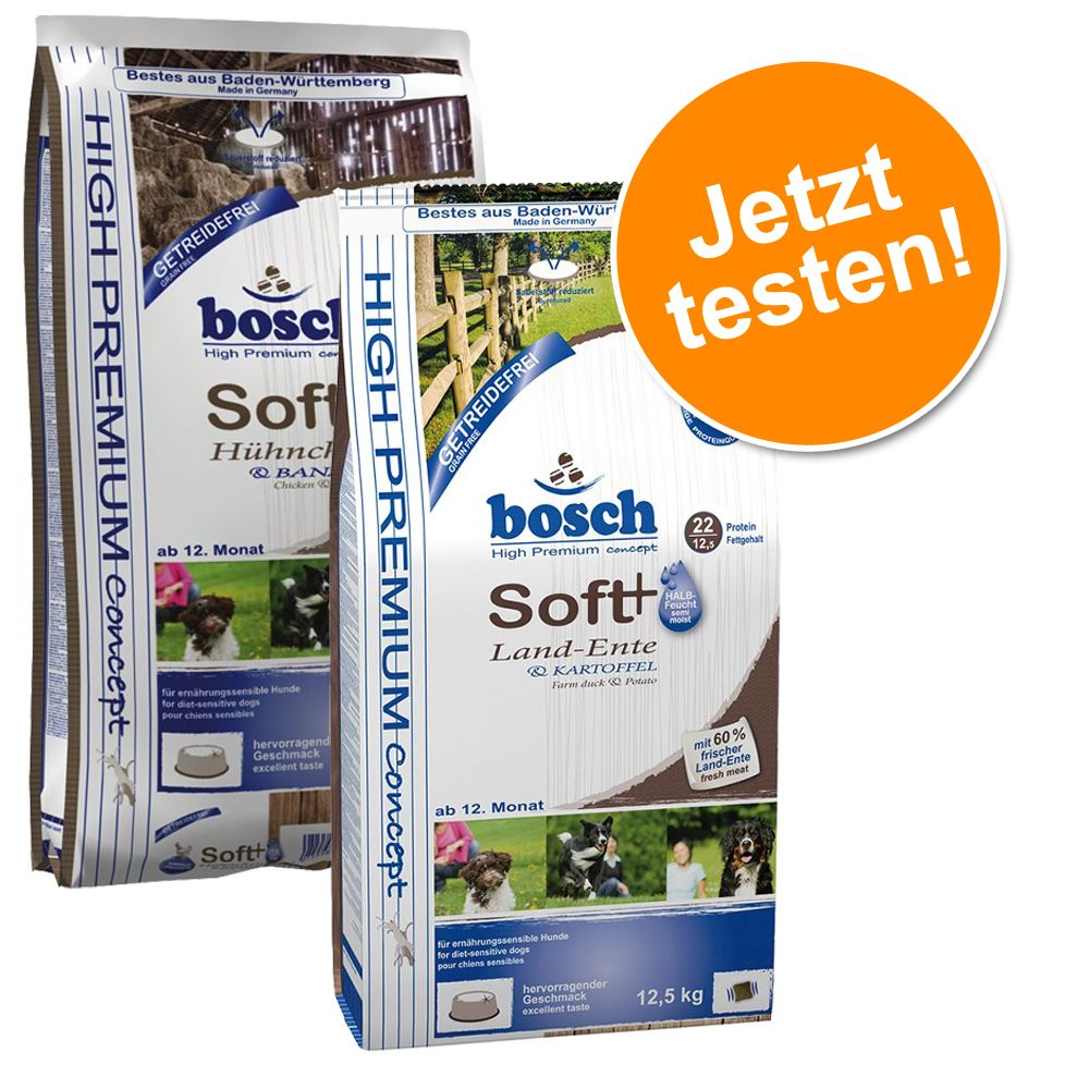 Probierpaket: Bosch Soft 2 x 2,5 kg - 2 x 2,5 kg