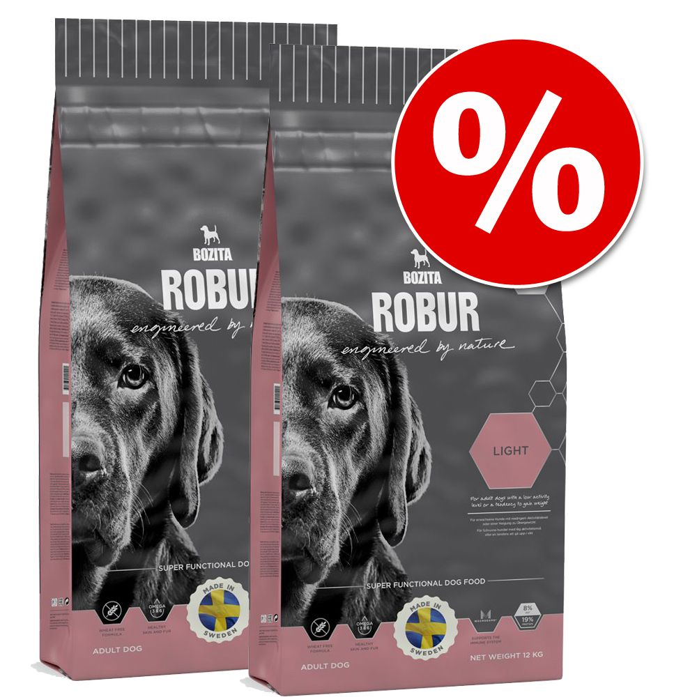 Ekonomipack: 2 x stora påsar Bozita Robur - Mother & Puppy XL (2 x 14 kg)