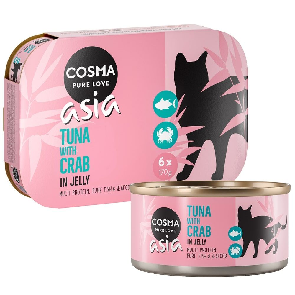 Mixed Pack in Jelly Cosma Thai Wet Cat Food