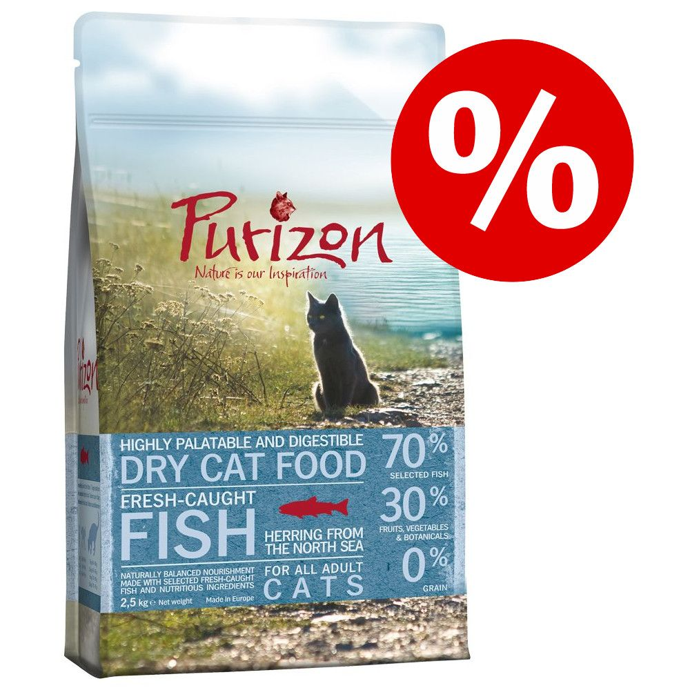 2,9 kg Adult Fisk kornfrit Purizon kattemad