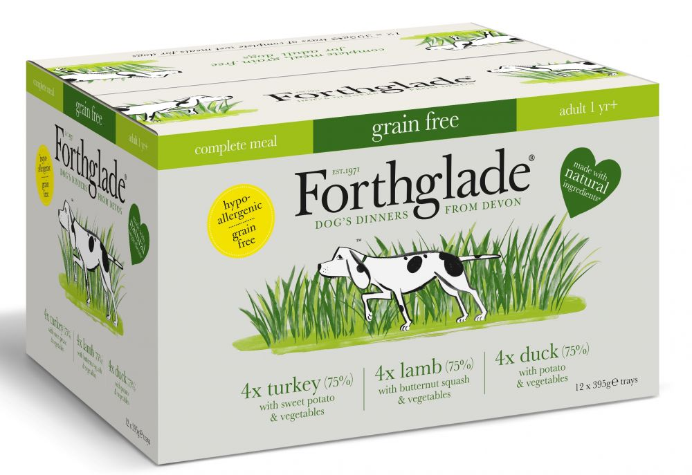 Forthglade Complete Meal Grain Free Mixed Pack Wet Dog Food