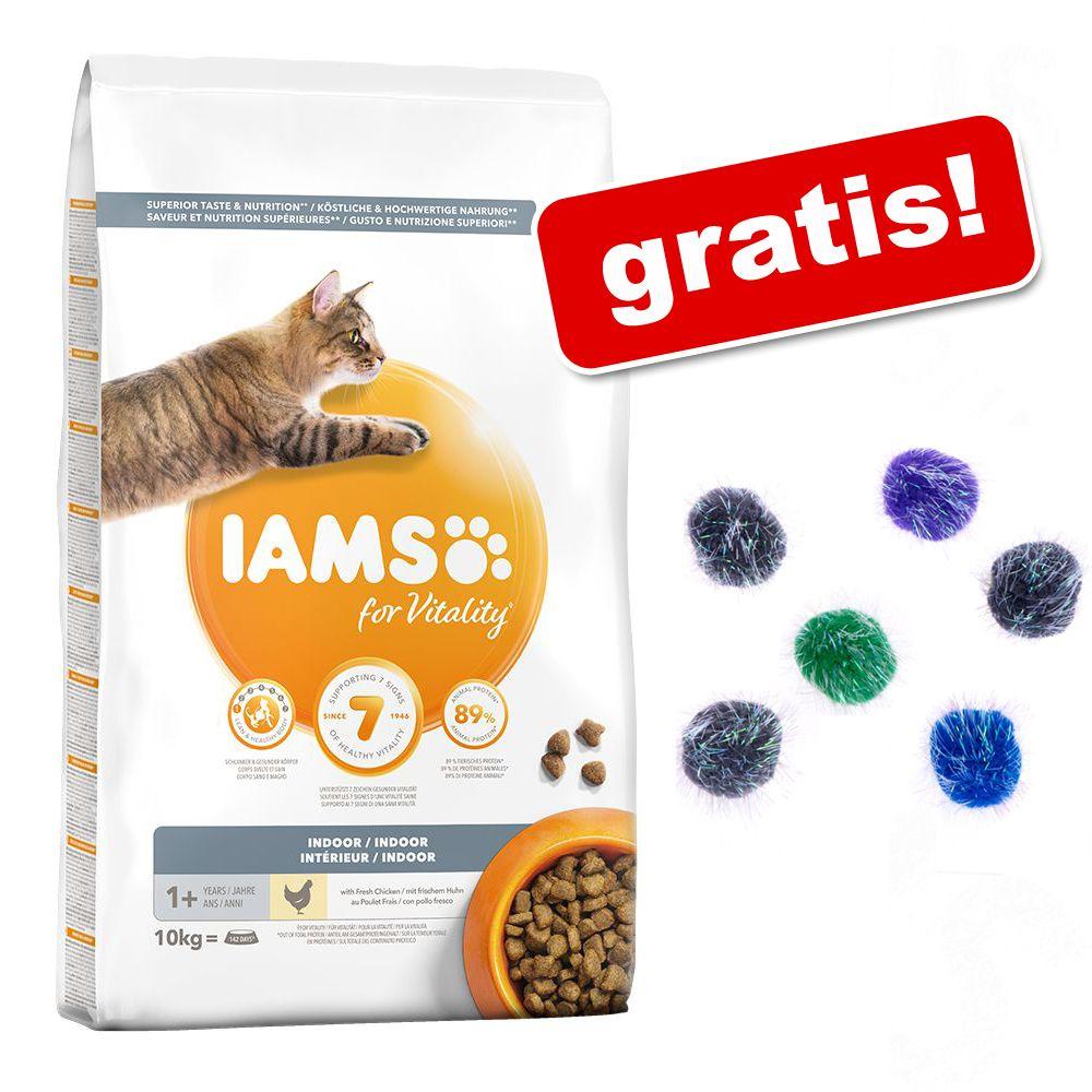 IAMS torrfoder 10 eller 15 kg + prasselbollar på köpet! Low Fat (10 kg)