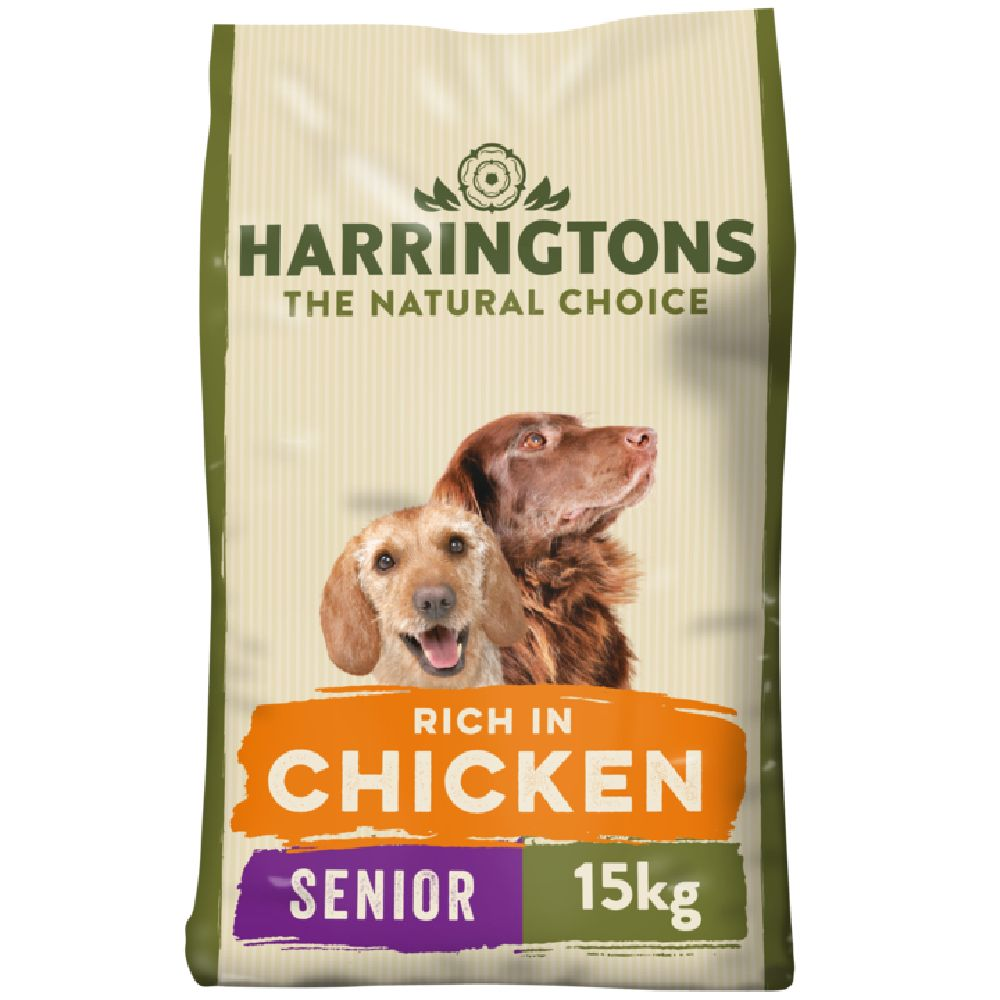 Harringtons Complete Senior Dog - Rich in Chicken & Rice - 15kg